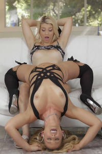 Aubrey Gold Is Playing With Cherie Deville