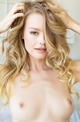Young Nude Model Olivia Preston