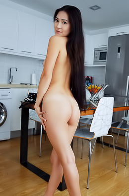 Kimiko Flaunting Her Tight Ass And Pert Breasts