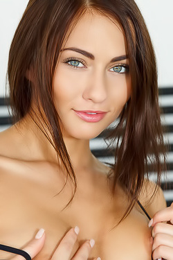 Michaela Isizzu, Beautiful Czech Brunette