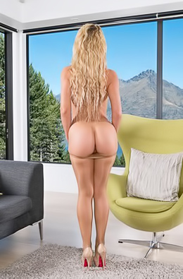 Cherie DeVille And Beautiful View