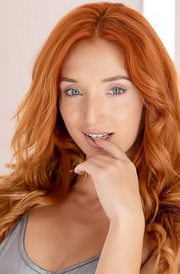 Redhead Girl Red Fox Masturbating