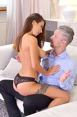 Liya Silver Wants Daddy's Shaft