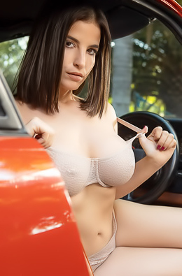 LaSirena69 Is Horny Of Sport Cars